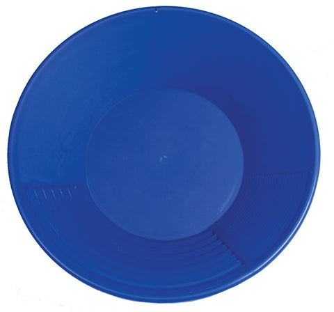 GOLD PAN, Pioneer 14 inch BLUE GOLD PAN
