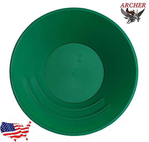 GOLD PAN, Archer 10 inch (Green)