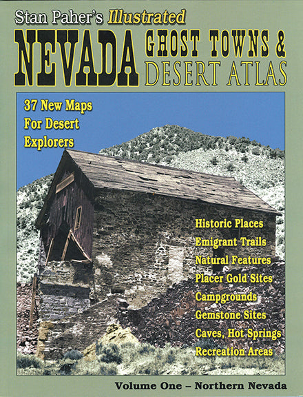 NV GHOST TOWN & MINING CAMPS ATLAS #1