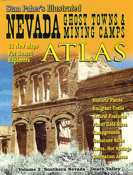 NV GHOST TOWNS AND MINING CMPS ATLAS #2