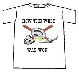 Large HOW THE WEST WAS WON - T-SHIRT