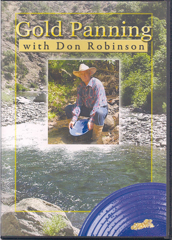 DVD - GOLD PANNING by Don Robinson