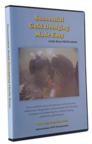 DVD SUCCESSFUL GOLD DREDGING MADE EASY