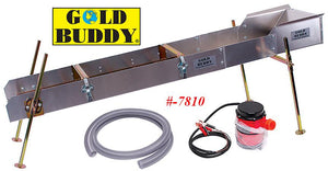 Gold Buddy Magnum Power Sluice with 12 Volt Pump