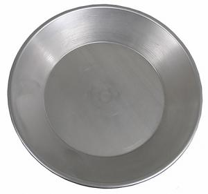GOLD PAN, Big Bottom 6 inch Steel GOLD PAN