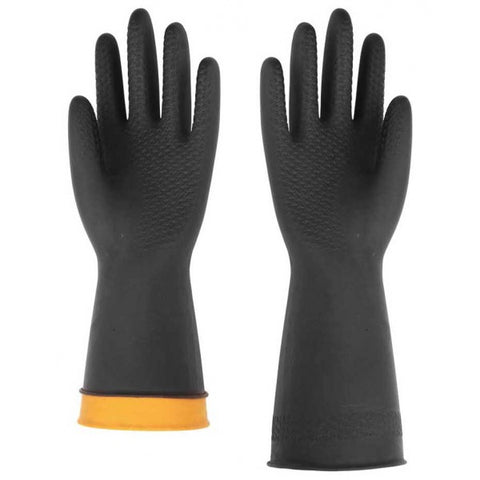 GLOVES, BLACK PANNING GLOVES/24 inch