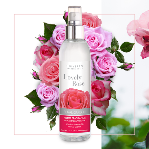 Aromatizador Ambiental Lovely Rose