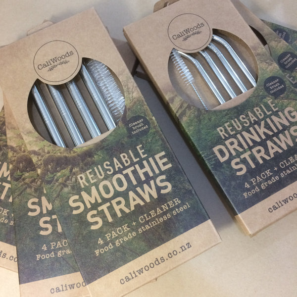 Cali Woods Re-Usable Drinking Straws