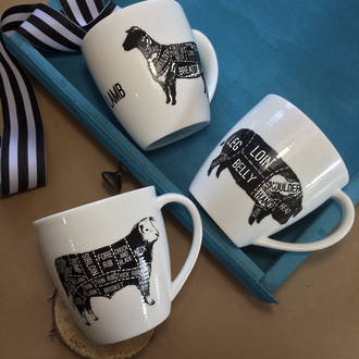 Farmers Daughter - Set of Three Mugs