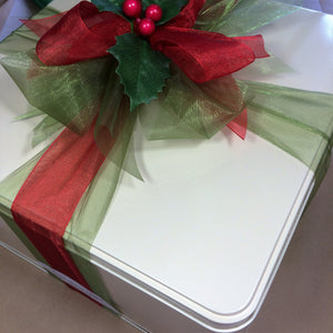 Christmas Cookie Tin