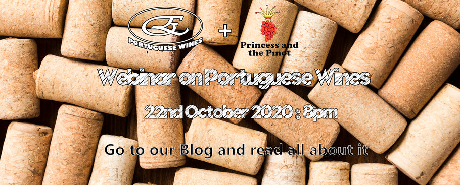 An evening with Portuguese Wines - Free Webinar