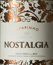 Load image into Gallery viewer, Nostalgia Alvarinho 10 Barricas Vinho Verde 2015 - exquisite-portuguese-wines