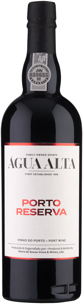 Agua Alta Ruby Reserve Port - exquisite-portuguese-wines