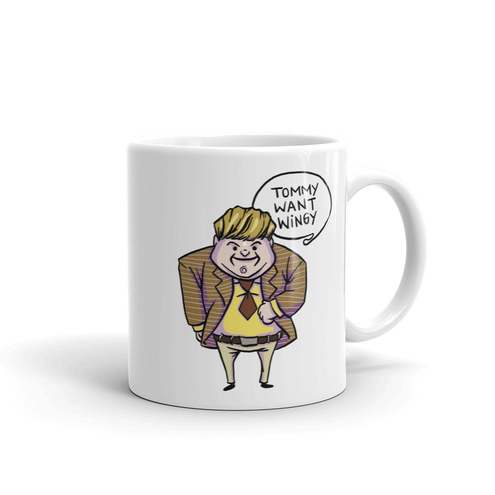 Tommy Want Wingy Coffee Mug