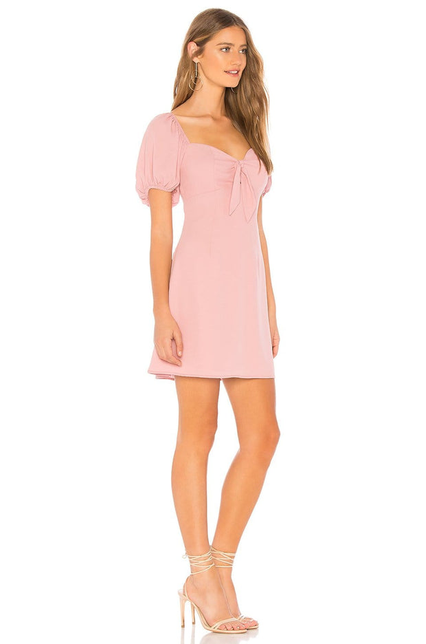 Clarissa Tie Mini Dress - REHEART 💜 Canadian Online Wardrobe-Sharing Platform