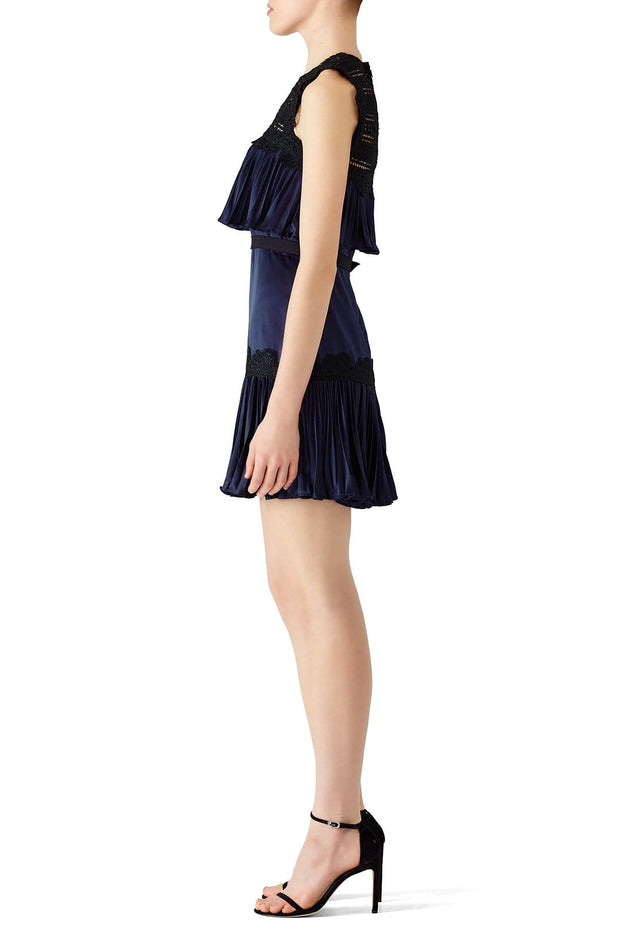 Navy Pippa Dress - REHEART 💜 Canadian Online Wardrobe-Sharing Platform