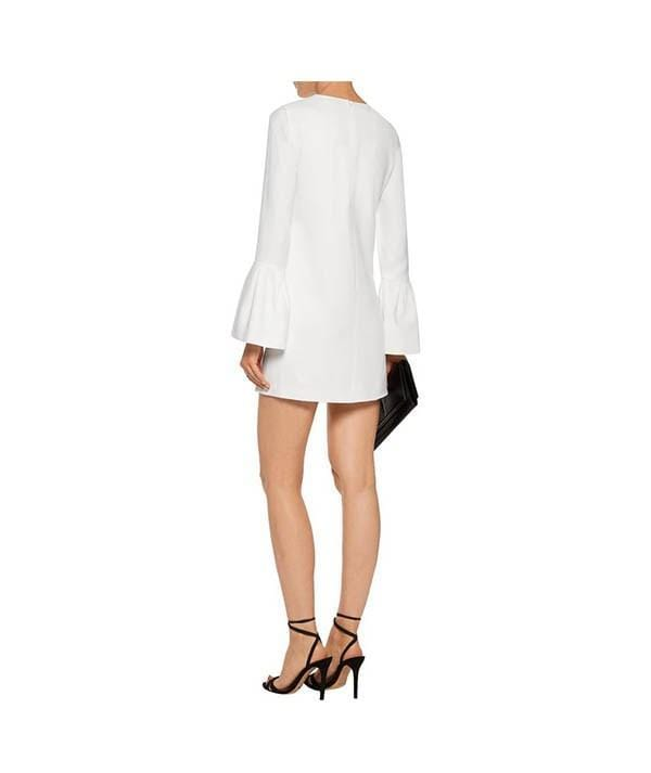 Josephine Bell-Sleeve Shift Dress - REHEART 💜 Canadian Online Wardrobe-Sharing Platform