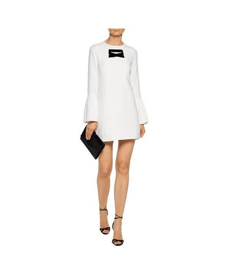 Josephine Bell-Sleeve Shift Dress, Dress, moniscans,- REHEART Canadian Online Wardrobe-Sharing Platform