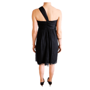 1 One-Shoulder Flowy Short Dress - REHEART 💜 Canadian Online Wardrobe-Sharing Platform