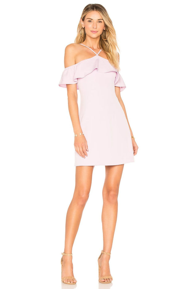 Callie Ruffle Mini Dress - REHEART 💜 Canadian Online Wardrobe-Sharing Platform