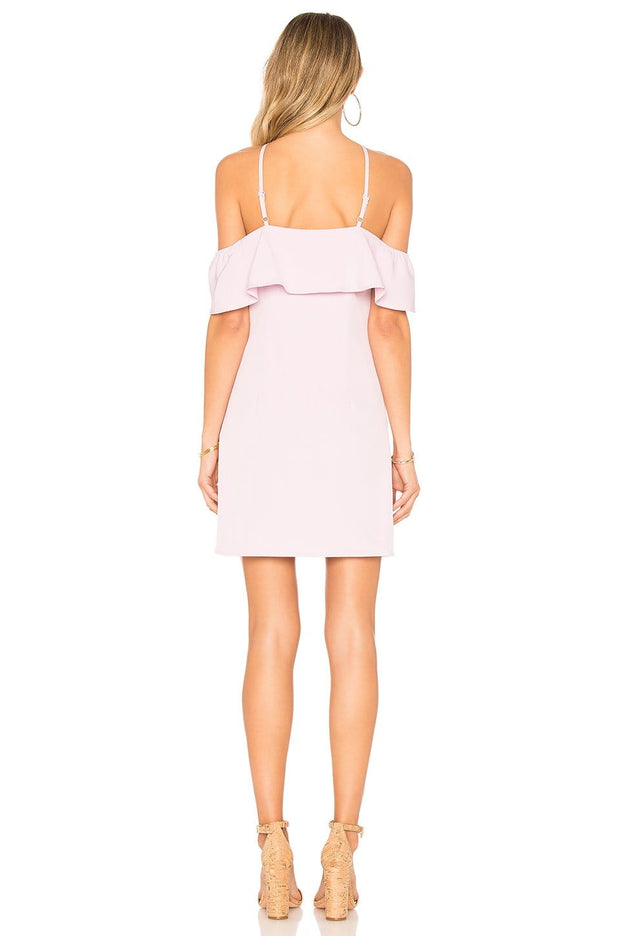 Callie Ruffle Mini Dress, Dress, ladydi,- REHEART Canadian Online Wardrobe-Sharing Platform
