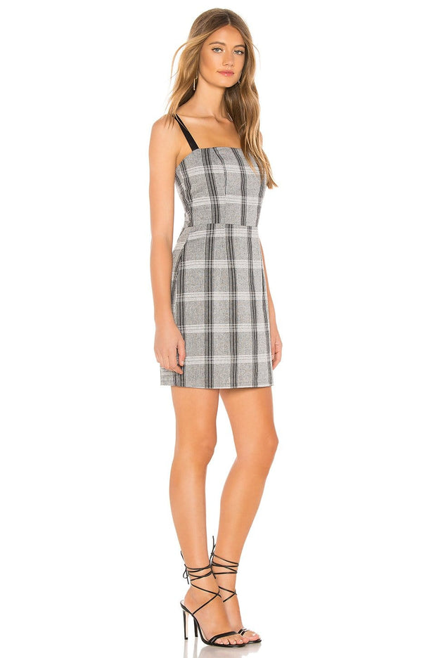 Good To Be Plaid Mini Dress, Dress, alexislo,- REHEART Canadian Online Wardrobe-Sharing Platform