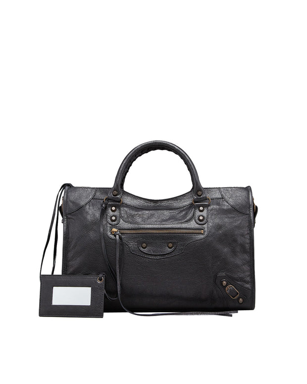 Black Classic City Bag, Bag, vbelegrinis,- REHEART Canadian Online Wardrobe-Sharing Platform