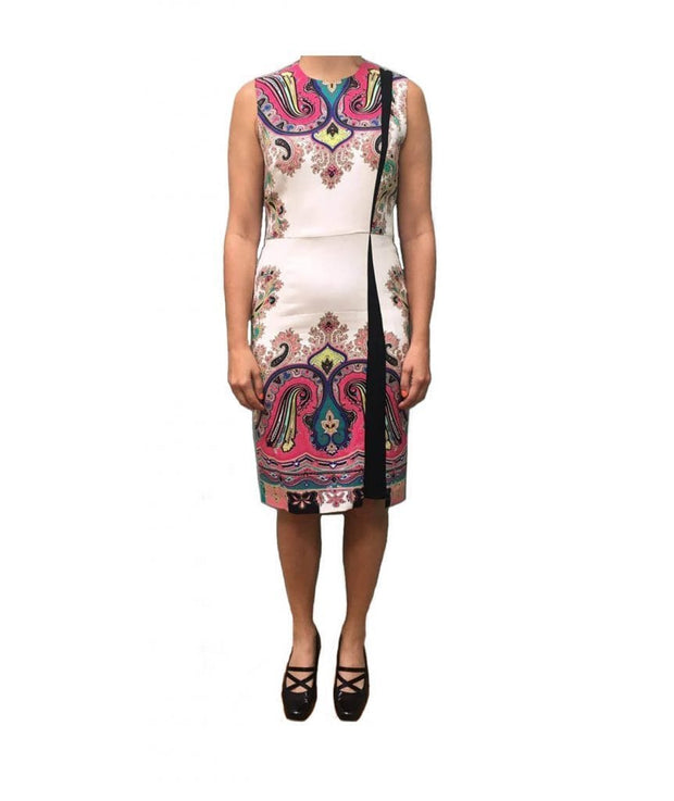 Etro White Paisley - Boro Dress Rentals
