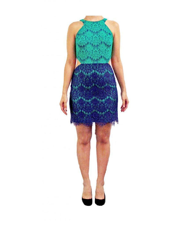 Walker Cut-Out Lace Dress, Dress, sabrinabeans,- REHEART Canadian Online Wardrobe-Sharing Platform