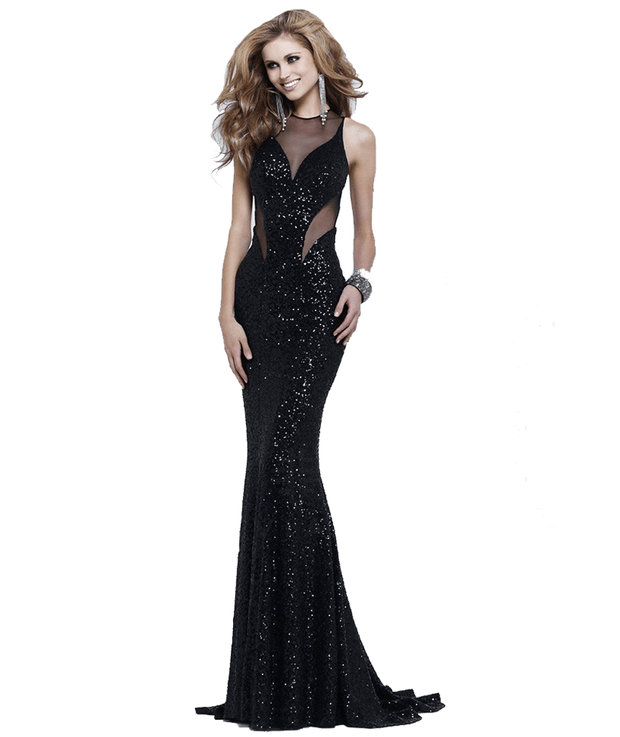 Sequin & Shimmer Cutout Gown, Dress, juliamelfi,- REHEART Canadian Online Wardrobe-Sharing Platform