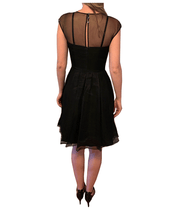 Formal Silk Dress with Lace Embroidery - REHEART 💜 Canadian Online Wardrobe-Sharing Platform