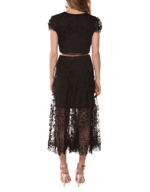 Two-Piece Lace Dress, 2-Piece, vbelegrinis,- REHEART Canadian Online Wardrobe-Sharing Platform