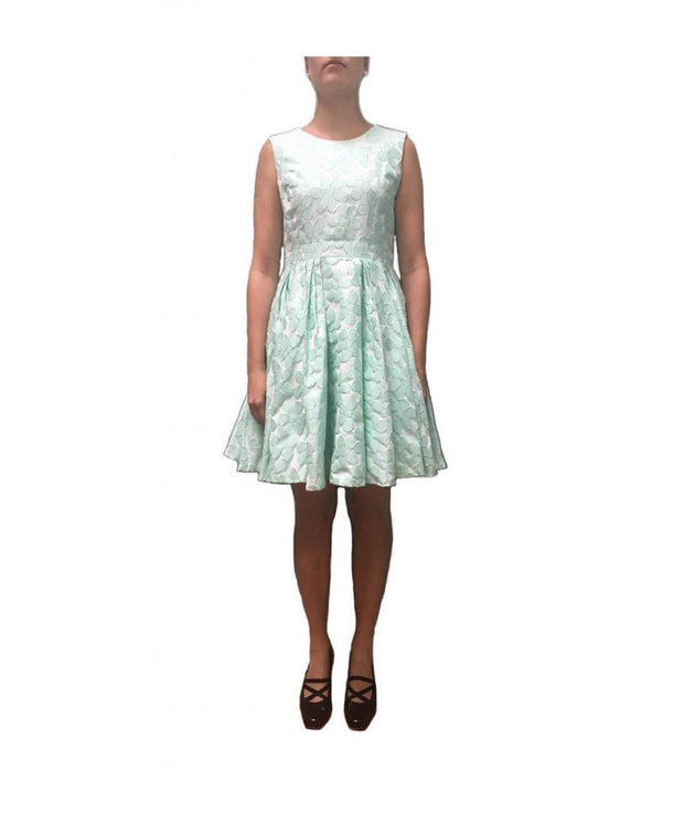 Mint Fit & Flare Cocktail Dress - REHEART 💜 Canadian Online Wardrobe-Sharing Platform