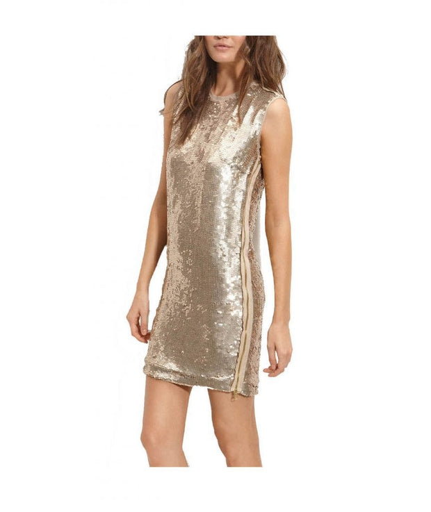 Robert Rodriguez Gold Sequin - Boro Dress Rentals