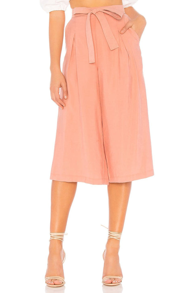 Self Belted Culotte Pants, Pants, annataylor,- REHEART Canadian Online Wardrobe-Sharing Platform