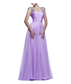 Lavender Jeweled Gown