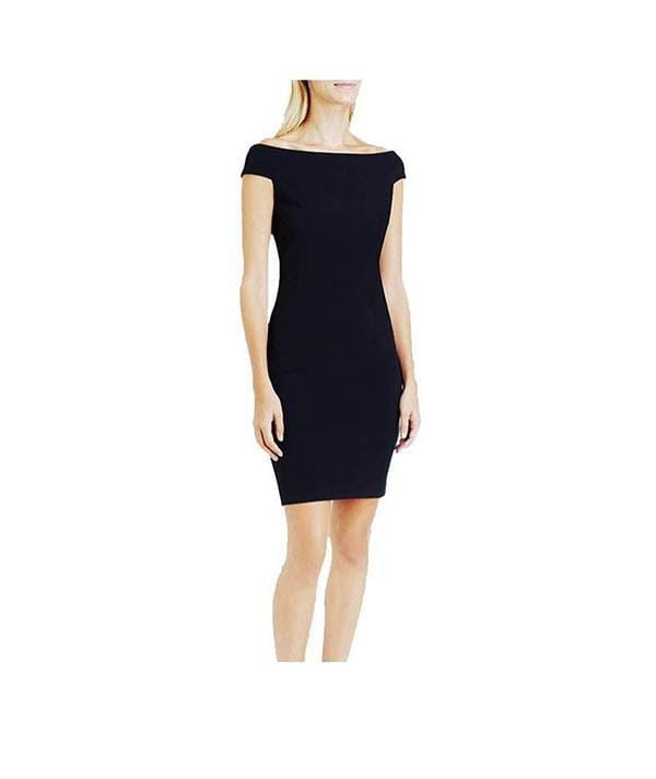 Off The Shoulder LBD, Dress, jacklynnwest,- REHEART Canadian Online Wardrobe-Sharing Platform