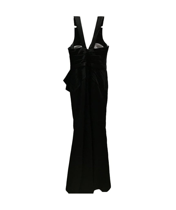 Truly Black Gown, Dress, Vanessgrillone,- REHEART Canadian Online Wardrobe-Sharing Platform