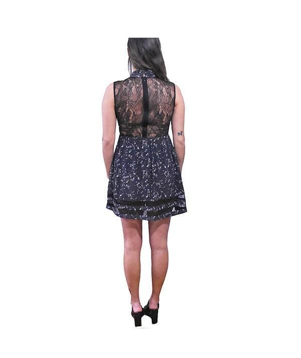 Sleeveless Lace Dress - REHEART 💜 Canadian Online Wardrobe-Sharing Platform