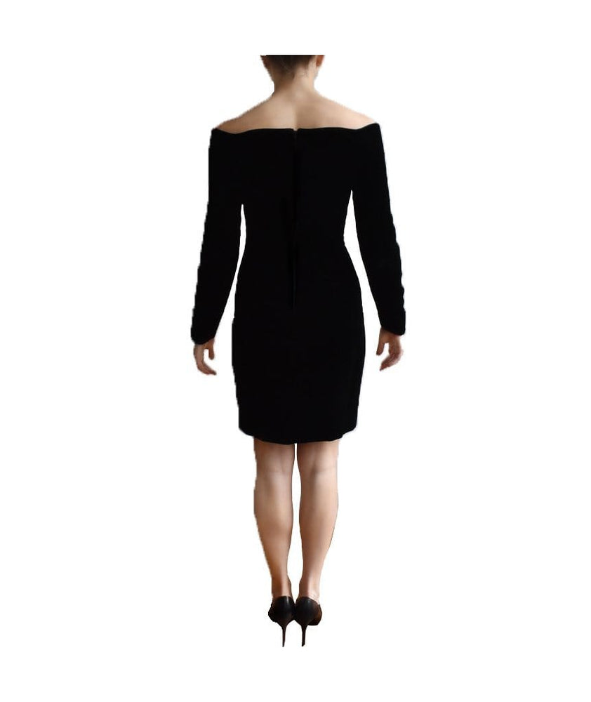Wayne Clark Velvet Cold Shoulder - Boro Dress Rentals