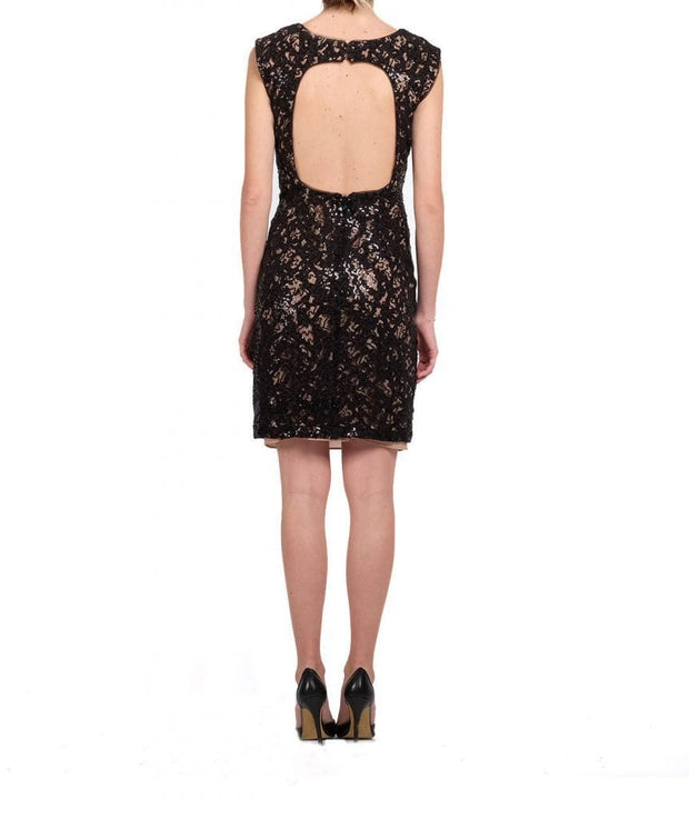 Sequin Applique Dress - REHEART 💜 Canadian Online Wardrobe-Sharing Platform