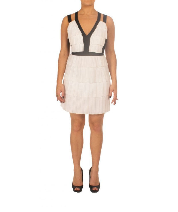Hartley Pleated Dress, Dress, definasa,- REHEART Canadian Online Wardrobe-Sharing Platform