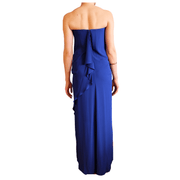 Grace Strapless Gown with Cascading Trim, Dress, Missy-Kay-Kay,- REHEART Canadian Online Wardrobe-Sharing Platform