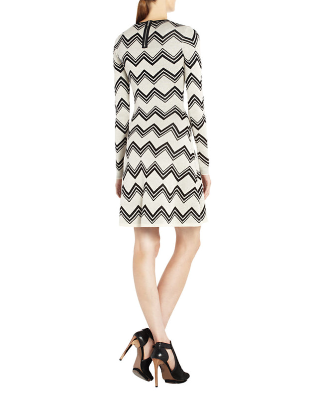 Keeley Jacquard Zigzag Knit Sweater Dress, Dress, katcm1,- REHEART Canadian Online Wardrobe-Sharing Platform