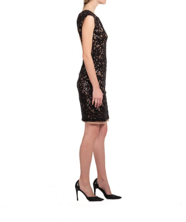 Sequin Applique Dress, Dress, natfest,- REHEART Canadian Online Wardrobe-Sharing Platform
