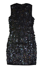 Black Emory Sequin Mini, Dress, Patricia M,- REHEART Canadian Online Wardrobe-Sharing Platform