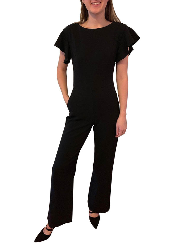 Flared Sleeved Jumpsuit, Jumpsuit, katcm1,- REHEART Canadian Online Wardrobe-Sharing Platform