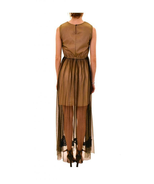 Nude Lace Gown, Dress, acarino28,- REHEART Canadian Online Wardrobe-Sharing Platform