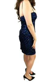 Navy Sequin Sweetheart