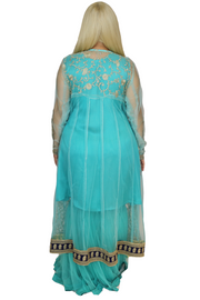 Baby Blue 4-Piece Gown Set, Dress, vbelegrinis,- REHEART Canadian Online Wardrobe-Sharing Platform